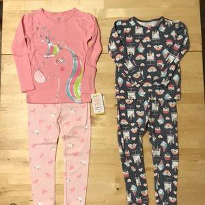 Carter's   2 LS Pajama Sets NWT